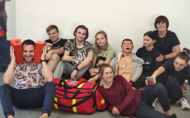 Chcemy mądrze pomagać – kurs Kwalifikowanej Pierwszej Pomocy